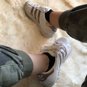 Adidas Superstar Cloudfoam shoes Rose Gold 8